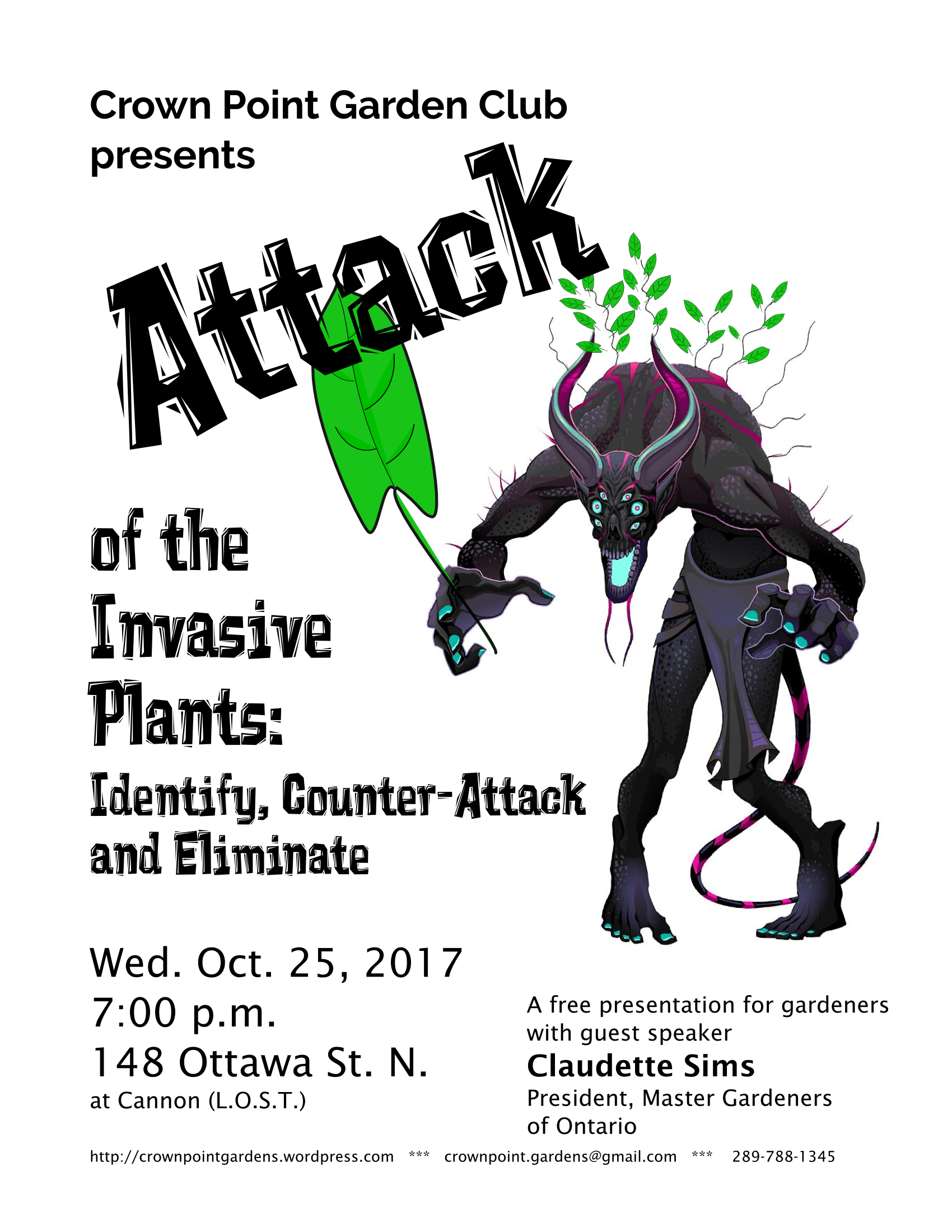 Attack of the Invasive Plants graphic
